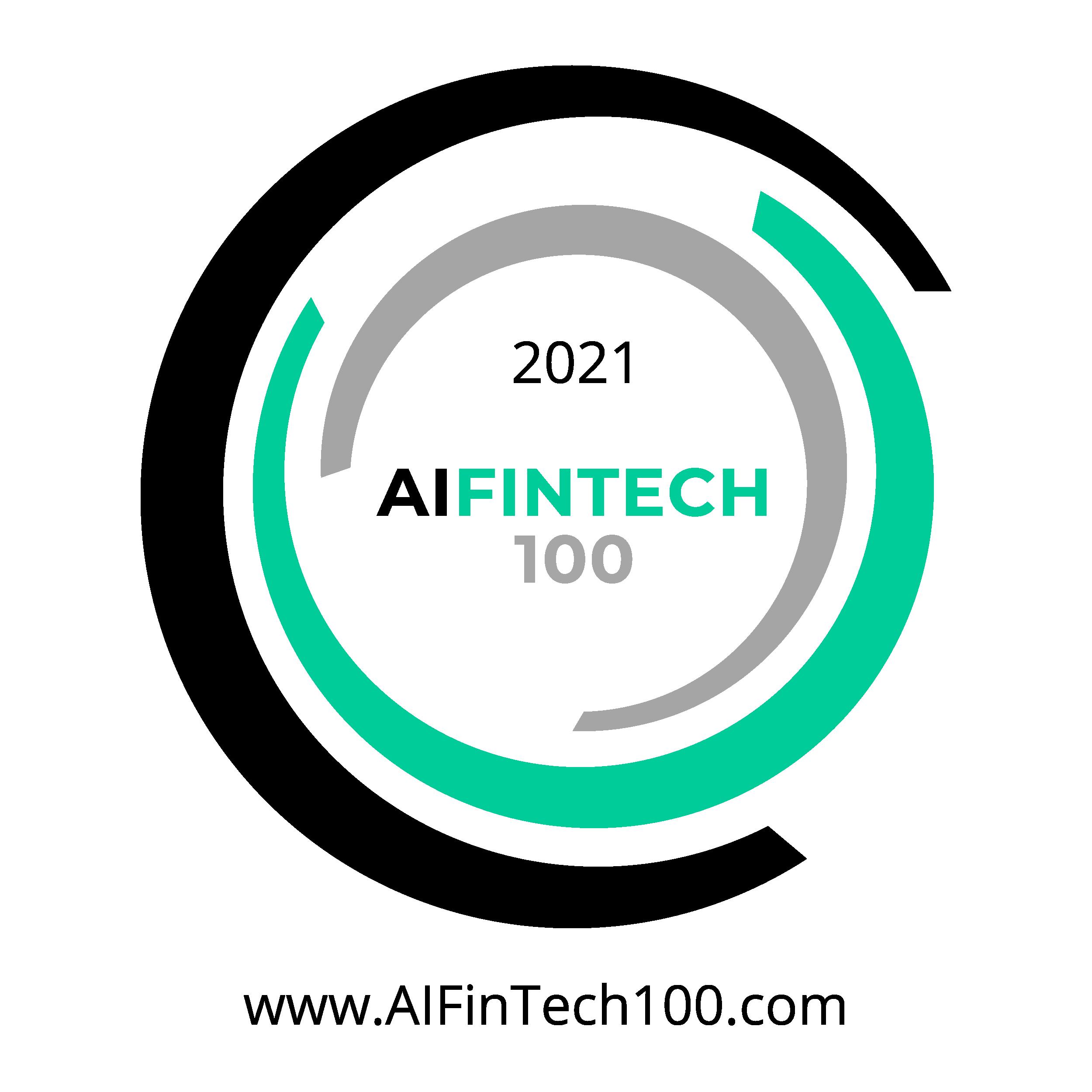 2021 AI FInTech 100 Award